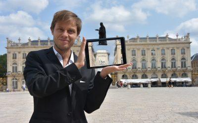 L'Est Républicain – Un magicien 2.0 Place Stanislas !