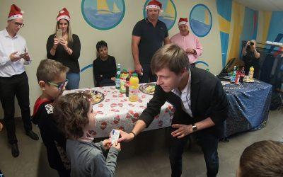Magie iPad pour la Saint-Nicolas des Enfants de Brabois