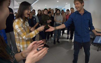 Magie iPad à Pékin pour Zenjoy
